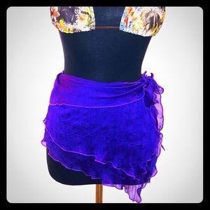 Vivid Purple Sarong by Becca